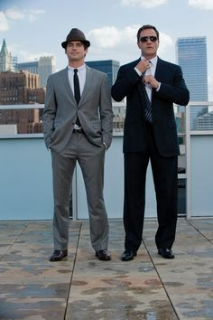 One of my favorite bromances on TV. Yes, Matt Bomer, but there is something unexpectedly sexy about Tim DeKay!