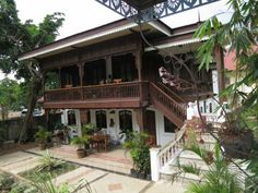 philippine architecture in US - Yahoo Search Results Filipino Architecture, Philippine Architecture, Tropical Architecture, Asian House, Thai House, Spanish House, Spanish Style, Filipino House, Philippine Houses