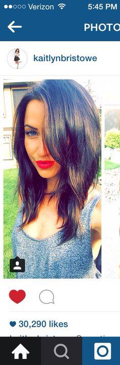 Loveee kaitlyn bristowes hair