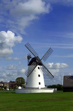 Lytham windmill.  Come and stay at Ribby Hall Village!- within easy reach of Lytham. For more information please visit www.ribbyhall.co.uk.