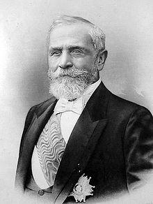 Émile Loubet (1838-1929), 8e président de la République française du 18 février 1899 au 18 février 1906.