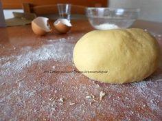 Pasta all'uovo con farina di ceci
