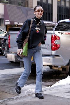 bella hadid outfits best outfits - Page 14 of 100 - Celebrity Style and Fashion Trends Fashion Guys, Fashion Killa, Look Fashion, 90s Fashion, Winter Fashion, Fashion Outfits, Fashion Trends, Fashion Weeks, Milan Fashion