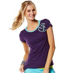 The Part Of The Crew Neck Tee is that once in a while, too good to be true top. Pair it with the On The Marquee Fame Capri and let your moves (and the compliments!) fly. - See more #zumbaclothing at: http://fitnessfactoryzumba.com/shoppe/part-of-the-crew-neck-tee-berry-nice/#sthash.DesdJAEd.dpuf