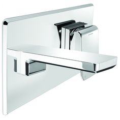Find Methven WELS 4 Star Chrome Kiri Wall Mounted Basin Mixer With Plate at Bunnings Warehouse. Visit your local store for the widest range of bathroom & plumbing products. Bath Mixer, Mixer Shower, Kitchen Mixer, Bathroom Warehouse, Wall Mounted Basins, Bathroom Plumbing, Architecture Design, Chrome, House Design