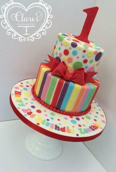 Rainbow Bday Cake