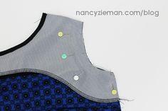 Nancy Zieman's Knit Dress Sew Along 2015 | McCalls M7152 | #NZKnitDressSAL
