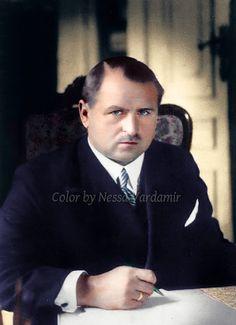 Kolorowy Świat Nessy czyli... Stare zdjęcia ręcznie kolorowane: Prezydent...do ostatniej chwili