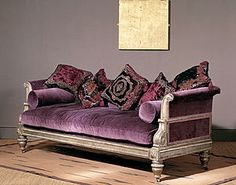velvet couch for my room Contemporary Furniture, Cool Furniture, Furniture Design, Lila Sofa, Home Interior, Interior Design, Velvet Couch, Home And Deco, Home Furnishings