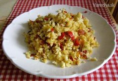 Staročeské rachotkrumple Grains, Rice, Vegetables, Treats, Sweet Like Candy, Goodies, Vegetable Recipes, Seeds, Sweets