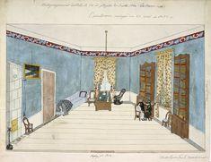 Mottagningsrummet hos D.L. (Dr. Levin) N.14 vid Götgatan, Qvarteret Jupiter Större, en trappa upp - Operationen onsdagen den 24 april år 185...