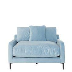 Messina 1.5 Seater Velvet Sofa | Sofas | Living Room