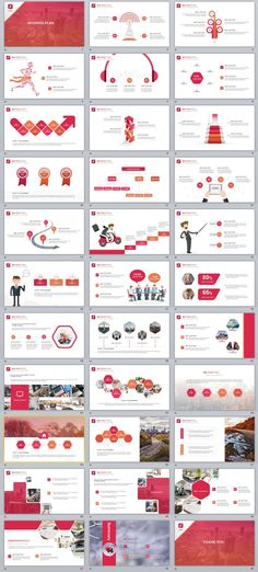 33+ Red Business Plan PowerPoint Templates