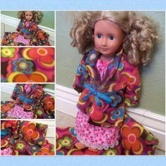 American Girl Doll Clothes Sleepwear by BarbieBoutiqueBasics