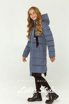 LidiiaStyle пуховик джинс 211-Д. Winter Jackets, Fashion, Winter Coats, Moda, La Mode, Fasion, Fashion Models, Trendy Fashion