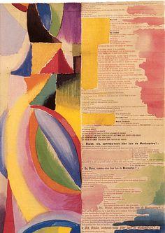 La prose du Transsiberian et de la petite Jehanne de France. Text by Blaise Cendrars; Illustrated by Sonia Delaunay