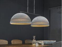 Deze Divalii Carta Giro hanglamp kopen voor €234,-? Grote hanglamp met twee kartonnen lampenkappen