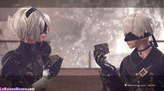 Des cubes noirs, un récit en 11 000 et quelques, des personnages assez similaires au premier NieR ... Le jeu pourra compter sur un scénario assez intrigant. A souhaiter le voir plus bavard et prometteur.  http://lamaisonmusee.com/