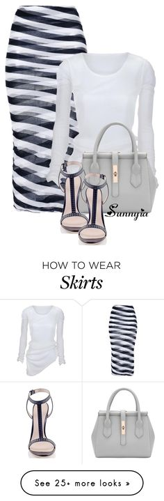 """Unique Skirt"" by sunnyia on Polyvore featuring STELLA McCARTNEY and Konstantina Tzovolou"