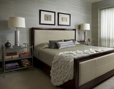 FirstClass Retreat  Master Bedroom  Bedroom  Eclectic by Mitchell Channon Design