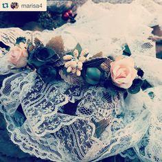 #repost @marisa4 #throwbackthursday #tribeca #tribecahandmade #headpiece #bridalheadpiece #bridal #novias #invitadaperfecta #invitada #flowers #fashion #vintage #lace #shopping #shop #handmade #pretty #cute #beautiful #nice #happy #love #style #outfit #london #madrid #costume