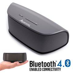 Naztech Wireless BT Cycle//Stroller Speaker w//Mount Hands Free call,8hr Playtime