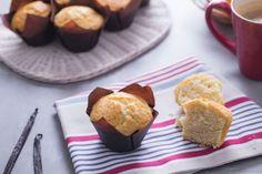 Muffins légers au fromage blanc WW, des délicieux petits gâteaux moelleux, parfaits pour un petit déjeuner léger, ou pour une collation.