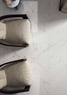 The Statuario Mercury tiles showcase the beauty of real marble, but have the practicality of porcelain. These large format tiles have great strength and durability, and the rectified edges ensure a precise, uniform edge to your installation. Marble Tiles, Marble Floor, Large Format Tile, Marble Effect, Wall And Floor Tiles, Timeless Fashion, Mercury, Luxury Homes, Strength