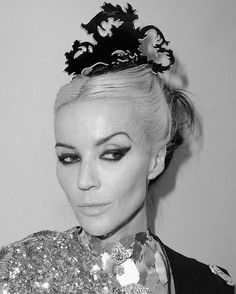 """""""Listen, I'm always on a worst-dressed list - and I really don't give a shit. You can't.""""      - Daphne Guinness"""