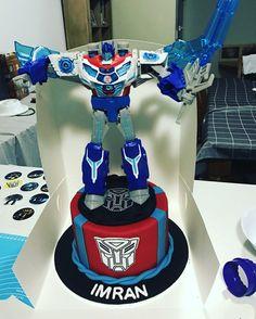 Transformers cake  #mkcakesandsweets
