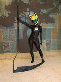 Character: Celty. Anime: 無頭騎士異聞錄 Durarara (Celty, Headless Rider DRRR). Cosplayer: Cynthia Lu 'aka' LushanArts. Event. Anime  Boston 2013.