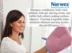 Norwex cleaning without chemicals on pinterest 194 pins for How to use norwex bathroom scrub mitt
