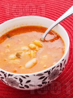 Bop chorba Bulgarian bean soup recipe (***/** This was very good, and Ivan liked it, but it didn't blow my mind away like it has in the past... maybe stronger mint was needed.)