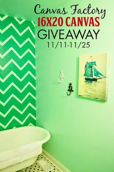 Deck the Home for the Holidays with Canvas Factory {Giveaway}