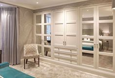 Bedroom sets and examples of newly married architect at home schlafzimmer schrank Bedroom Built In Wardrobe, Bedroom Built Ins, Wardrobe Room, Bedroom Closet Design, Closet Designs, Built In Wardrobe Designs, Luxury Wardrobe, Wardrobe Designs For Bedroom, Fitted Wardrobe Design