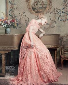 Elie Saab Gown. Photo by Marianna Sanvinto