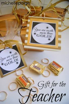 custodian appreciation gifts Teacher Gifts : michelle paige: Worth More than Gold Teacher Appreciation Staff Gifts, Volunteer Gifts, Volunteer Appreciation Gifts, Volunteer Ideas, Appreciation Quotes, Client Gifts, Teacher Appreciation Week, Employee Appreciation, Teacher Thank You