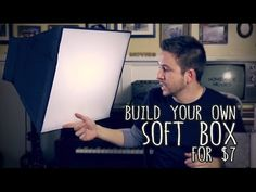 Here's how to make your own soft box for just $7 (the cost of the diffusion) and some cardboard! Subscribe: http://tinyurl.com/dustsub This is the 500 light ...