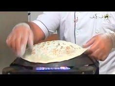 طريقة عمل خبز السميط التركي - YouTube