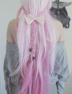 Light pink hair :)
