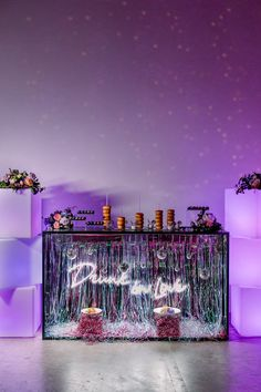 """Unique non-traditional ideas for your New Orleans wedding. Disco balls, pet rock Favors, """"groovy baby"""" straws, pop rock candy, vinyl record seating plan and more! Disco Birthday Party, 70s Party, 21st Birthday, Party Time, Disco Party Decorations, Wedding Decorations, Disco Theme Parties, Teen Party Themes, Wedding Centerpieces"""