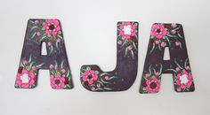 name wall decor | by rockybeads