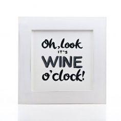 Wine O Clock, Oclock, Decor, Decoration, Decorating, Deco