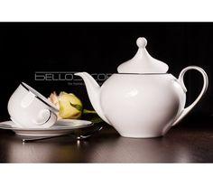 Villa Italia Hatty Platin - Serwis do herbaty, filiżanka, herbata, kawa