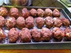 Easy Meat balls baked in oven
