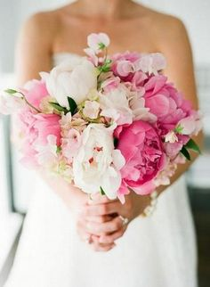 Préparatifs mariage thème plage : rose, fuschia, blanc - Pivoines <3 : Album photo - aufeminin.com : Album photo - aufeminin.com - aufeminin