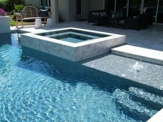 Tampa Bay Pools can design a classical geometric custom pool and spa. See our photo gallery for your next square, rectangle, or oblong florida pool. Luxury Swimming Pools, Luxury Pools, Swimming Pools Backyard, Dream Pools, Swimming Pool Designs, Pool Landscaping, Lap Pools, Indoor Pools, Ideas De Piscina