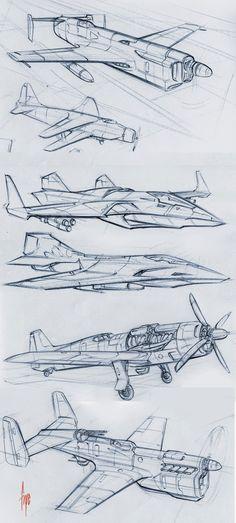 61 Ideas For Art Sketches Ideas Texture Illustration Avion, Drawing Sketches, Art Drawings, Sketching, Industrial Design Sketch, Aircraft Design, Art Graphique, Technical Drawing, Sketch Design