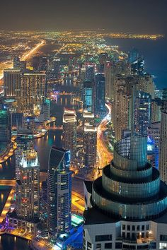 Dubai Marina, United Arab Emirates - looks like an interesting place. Except would it be any fun at all? Just asking, because I wonder...