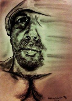 My work - SELF PORTRAIT (mixed media)